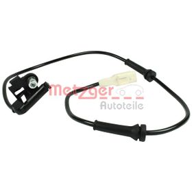 METZGER Sensor, Raddrehzahl 9658420780 für PEUGEOT, CITROЁN bestellen