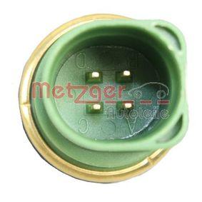 METZGER Sensor, temperatura del refrigerante 0905015