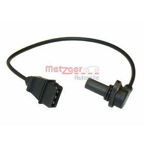 Sensor de revoluciones, control del motor 0909005 de METZGER