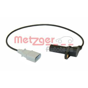 Sensor de revoluciones, control del motor 0909006 de METZGER