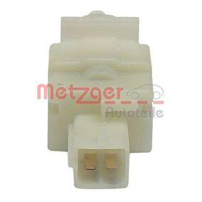 Brake stop lamp switch 0911034 METZGER