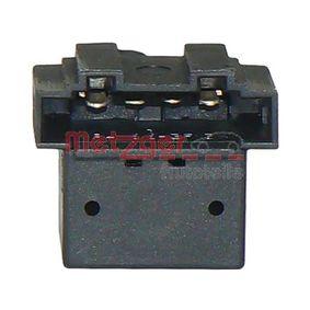 VW LUPO 1.4 TDI 75 CH année de fabrication 01.1999 - Interrupteur / régulateur (0911066) METZGER Boutique internet