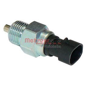 METZGER Reverse light switch 0912037
