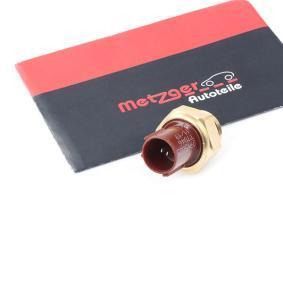 Jazz II Хечбек (GD_, GE3, GE2) METZGER Термошалтер, вентилатор на радиатора 0915005