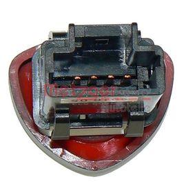 Warnblinkschalter 0916072 METZGER