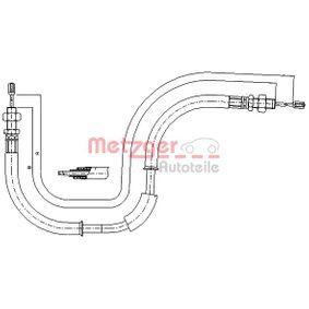 CHRYSLER Cable de accionamiento, freno de estacionamiento 17.6105