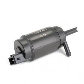 METZGER Motor agua limpiaparabrisas (2220003)