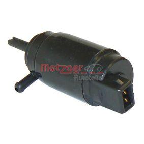 Bomba de limpiaparabrisas METZGER (2220003) para OPEL VECTRA precios