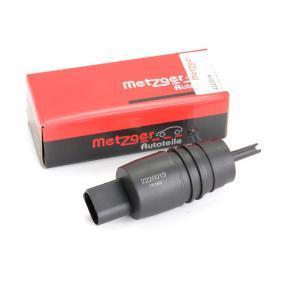 A2108690921 für MERCEDES-BENZ, SMART, Waschwasserpumpe, Scheibenreinigung METZGER (2220019) Online-Shop