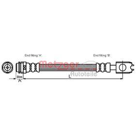 METZGER Bremsschlauch 1J0611701L für VW, AUDI, SKODA, SEAT bestellen