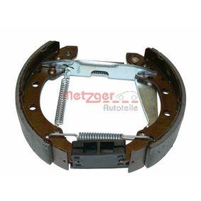 Bremsensatz, Trommelbremse METZGER Art.No - MG 571V OEM: 1H0698525X für VW, AUDI, SKODA, SEAT kaufen