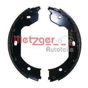 Bremsbacken für Handbremse MG 960 METZGER