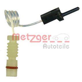METZGER Slitagevarnare WK 17-090 för MERCEDES-BENZ SPRINTER 311 CDI 4x4 109 HKR köp