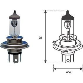 MAGNETI MARELLI Bulb, spotlight (002555100000) at low price