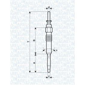 Glühkerzen MAGNETI MARELLI (062900039304) für BMW 3er Preise