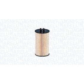 MAGNETI MARELLI CHEVROLET AVEO Filtro de aceite (152071761692)