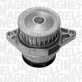 Wasserpumpe MAGNETI MARELLI Art.No - 350981527000 OEM: 030121005N für VW, AUDI, SKODA, SEAT, PORSCHE kaufen