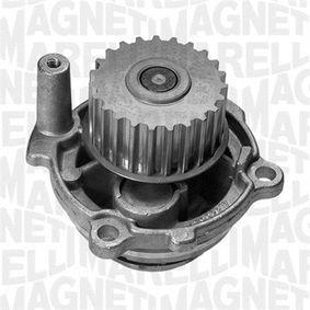 Wasserpumpe MAGNETI MARELLI Art.No - 350981702000 OEM: 06B121011EX für VW, AUDI, SKODA, SEAT, ALFA ROMEO kaufen