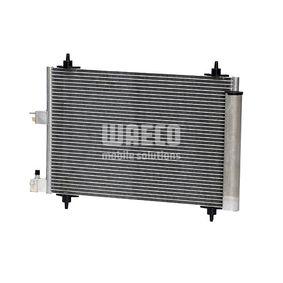 Kondensator, Klimaanlage WAECO Art.No - 8880400276 OEM: 6455Y9 für PEUGEOT, CITROЁN, VOLVO, PIAGGIO, DS kaufen