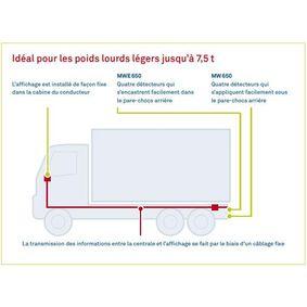WAECO Parking assist sensor MWE-650-4DSM for FIAT PUNTO 1.2 16V 80 (188.233, .235, .253, .255, .333, .353, .639,... 80 HP
