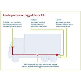 quality Parking sensors WAECO MWE-650-4DSM - FIAT PUNTO