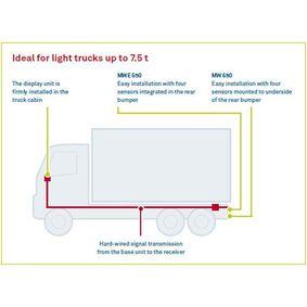 Sensores de aparcamiento WAECO (MWE-650-4DSM) para HONDA CR-V precios