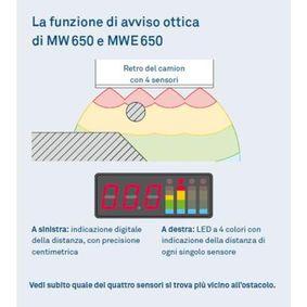 MWE-650-4DSM WAECO Sensores de estacionamiento - HONDA CR-V 01/2012