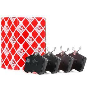 4D0698451E für VW, AUDI, FORD, SEAT, SKODA, Jogo de pastilhas para travão de disco FEBI BILSTEIN(16344) Loja virtual