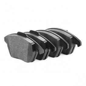 FEBI BILSTEIN 16502 Kit de plaquettes de frein, frein à disque OEM - 8J0698151C AUDI, SEAT, SKODA, VW, VAG, A.B.S., AP, OEMparts à bon prix