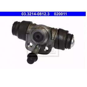 Radbremszylinder ATE Art.No - 03.3214-0812.3 OEM: 171611051B für VW, AUDI, SKODA, SEAT, PORSCHE kaufen