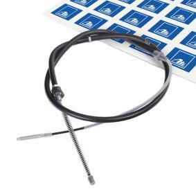 MERCEDES-BENZ Tirette à câble, frein de stationnement 24.3727-0162.2