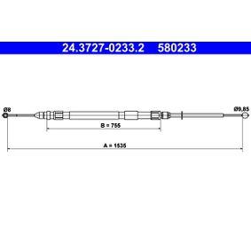 Handbremse ATE (24.3727-0233.2) für BMW 3er Preise