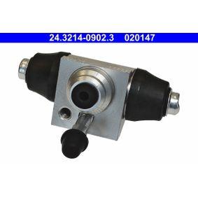 ATE Radbremszylinder 1H0611053B für VW, AUDI, SKODA, SEAT, PORSCHE bestellen