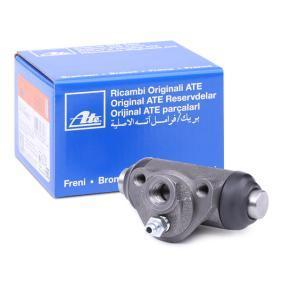 Radbremszylinder ATE Art.No - 24.3219-0803.3 OEM: 9945379 für FIAT, ALFA ROMEO, LANCIA, ABARTH, ZASTAVA kaufen