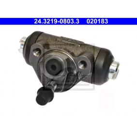 ATE Radbremszylinder 9945379 für FIAT, ALFA ROMEO, LANCIA, ABARTH, ZASTAVA bestellen
