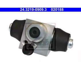ATE 24.3219-0909.3 Radbremszylinder OEM - 1H0611053 AUDI, PORSCHE, SEAT, SKODA, VW, VAG, FIAT / LANCIA, ATE, METELLI, NK, MEYLE, ROADHOUSE, A.B.S., BRINK, ÜRO Parts günstig