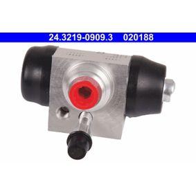 Cylindre de roue ATE (24.3219-0909.3) pour SKODA FABIA Les prix