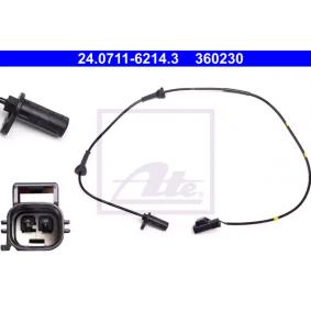 Sensor, Raddrehzahl ATE Art.No - 24.0711-6214.3 kaufen