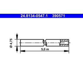ATE Спирачни маркучи 24.8134-0547.1
