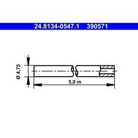 ATE Brake pipes 24.8134-0547.1