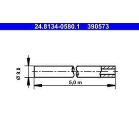 ATE Спирачни маркучи 24.8134-0580.1