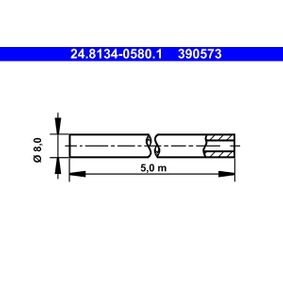 ATE Bremsleitungen 24.8134-0580.1