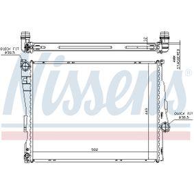 Beliebte Wasserkühler NISSENS 60782A für BMW 3er 320 d 136 PS