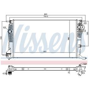 Ψυγείο, ψύξη κινητήρα NISSENS Art.No - 639971 αποκτήστε