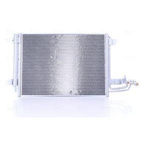 NISSENS Kondenzátor klimatizace (94684)