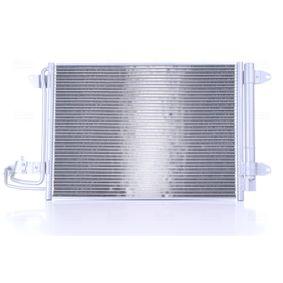 NISSENS Kondensator, Klimaanlage 94684