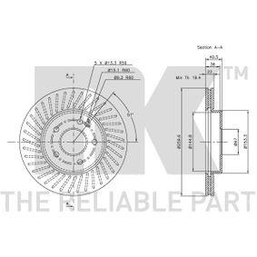 MERCEDES-BENZ CLASE A (W168) NK Sensor de nivel de depósito 203346 comprar