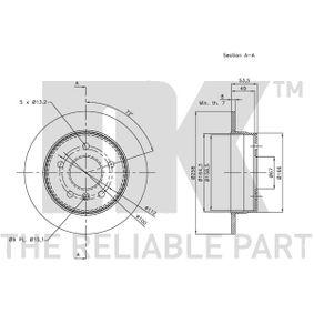 MERCEDES-BENZ CLASE A (W168) NK Sensor de nivel de depósito 203355 comprar