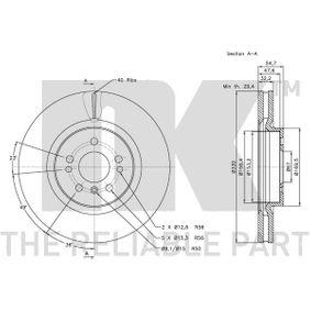 M-класа (W164) NK Съд за апирачната течност / единични части 203392