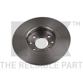 NK Bremsscheibe 402065345R für RENAULT, FIAT, DACIA bestellen